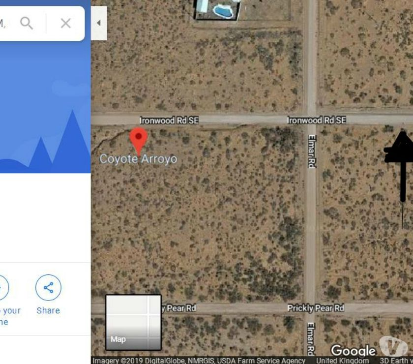 Land For Sale Abroad - Photos for 2000 sq.m Building Plot Investment in Land Deming , USA