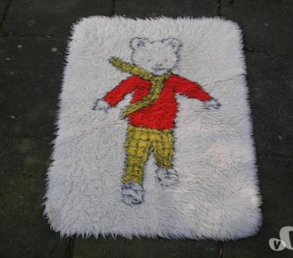 Photos for RUPERT the BEAR RUG and MEMORABILIA [or sell items separate]