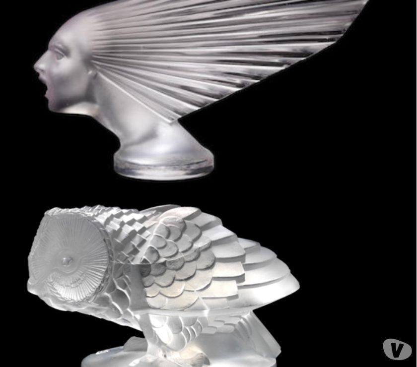 Photos for LALIQUE BUGATTI ELEPHANTS AS CAR MASCOTS-TROPHIES FOR SALE..
