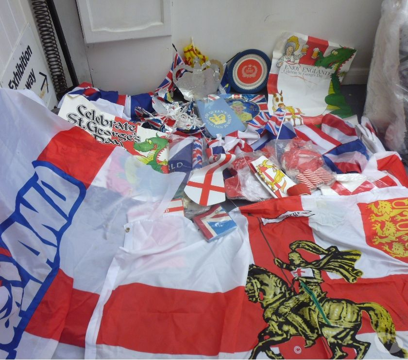 souvenirs East Sussex Brighton - Photos for FLAGS - a LARGE collection of British flags, buntings.