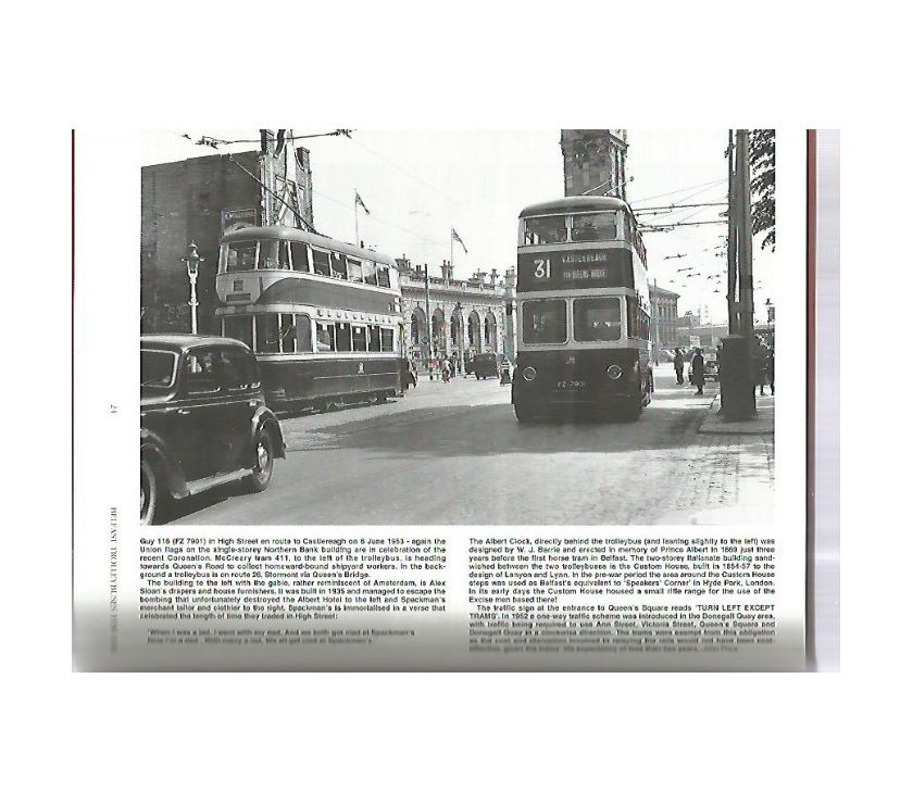 Photos for BELFAST TROLLEYBUSES BOOK