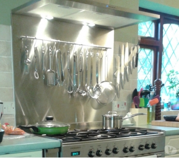 Photos for Stainless steel Kitchen Splash Back