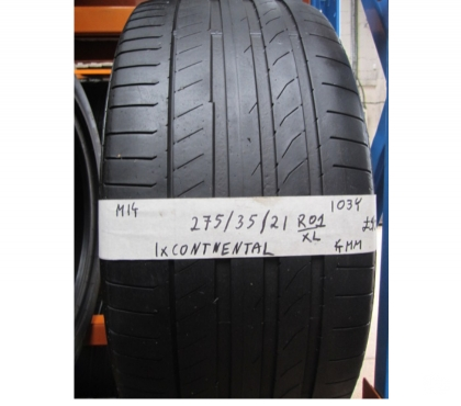 Photos for M14 1X 275 35 21 103Y CONTINENTAL SPORT CONTACT 5P RO1 XL