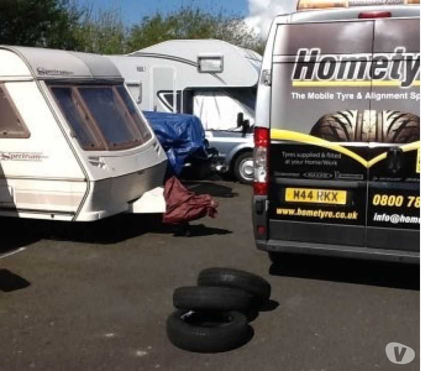 campervan accessories Hampshire Portsmouth - Photos for Bailey Caravan tyres