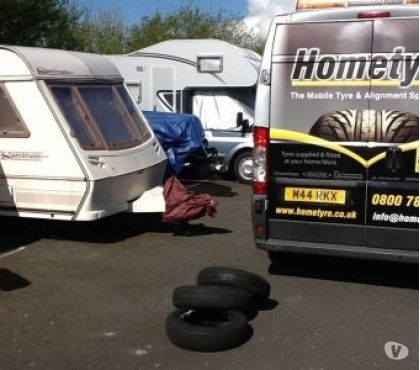 Photos for Bailey Caravan tyres