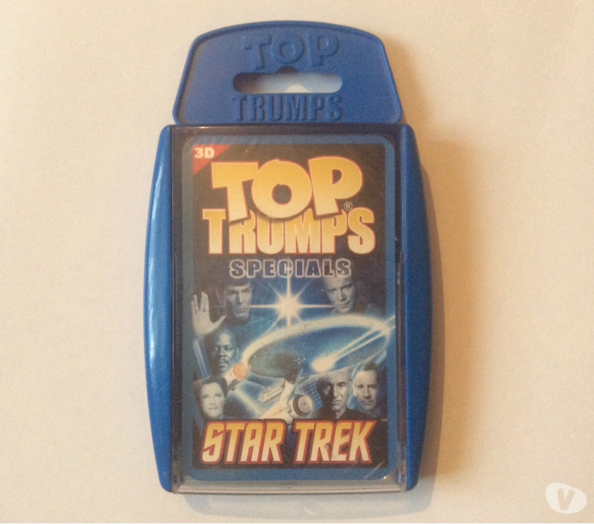 Miscellaneous Middlesex Hayes - Photos for Star Trek Top Trumps Specials in 3D, Brand New and Sealed.