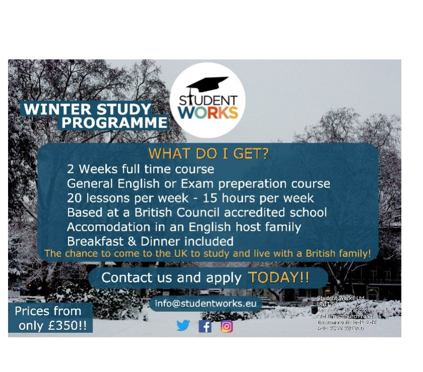 Language courses Dorset Bournemouth - Photos for WINTER STUDY PROGRAM