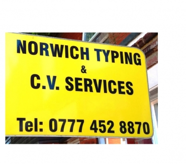 Photos for CV and Typing Services Norwich