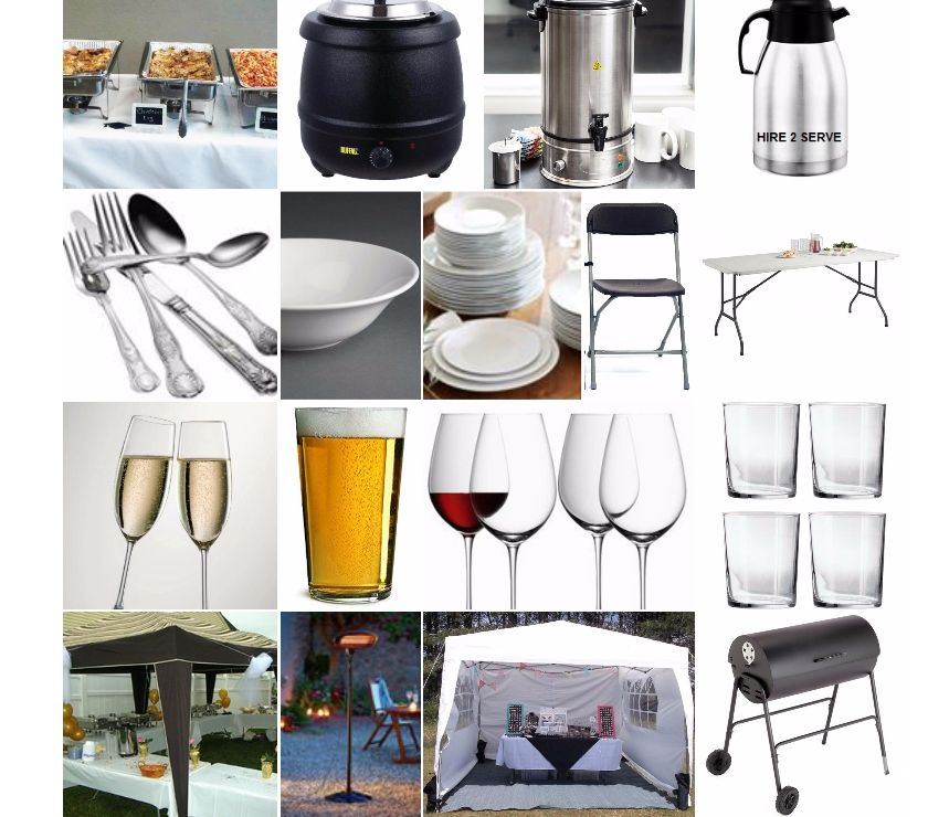 Photos for catering equipment for hire, party rental Reading