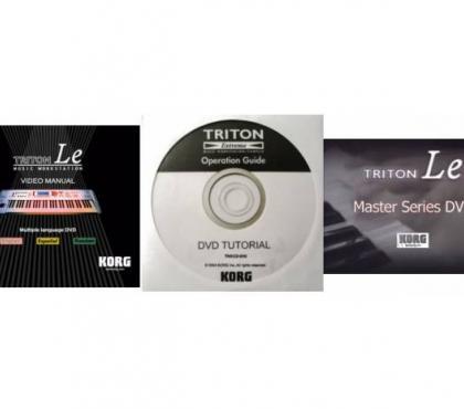 Photos for KORG Triton series DVD User Tutorials