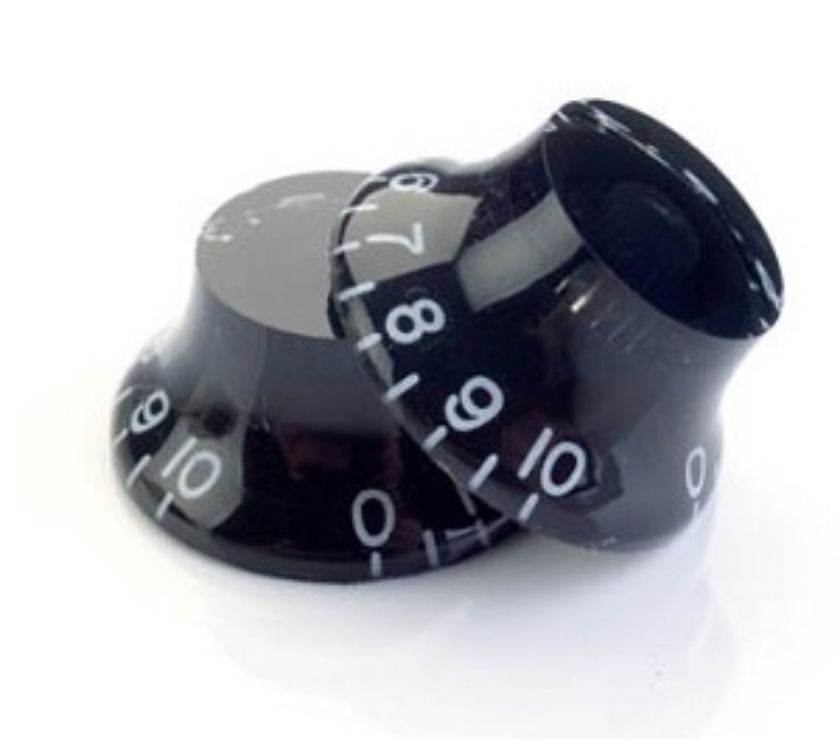 Photos for Top Hat Guitar control knobs in Black