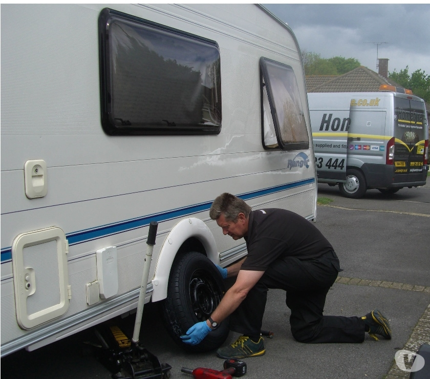 campervan accessories West Sussex Chichester - Photos for Lunar Caravan tyres