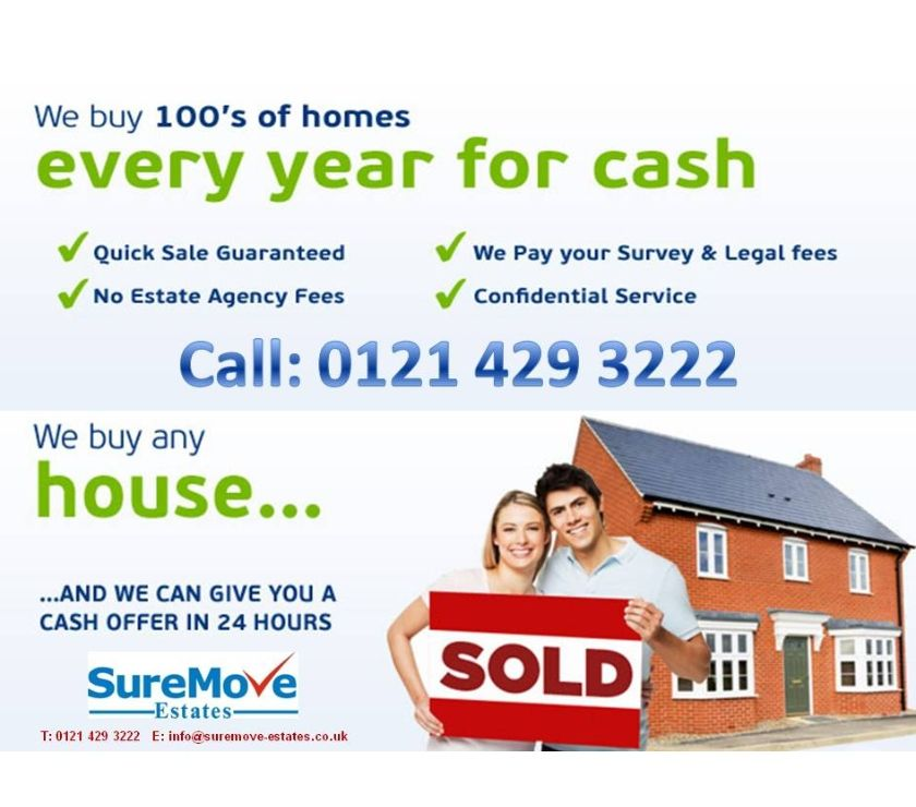 Property for Sale West Midlands Dudley - Photos for CASH FOR YOUR PROPERTY! CALL 0121 429 3222