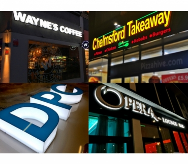 Photos for Shop Signs London Restaurant Signs & Signage