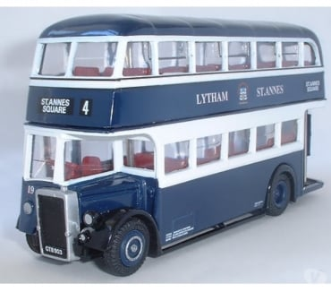 Photos for SCALE MODEL BUS: LYTHAM ST ANNES CORPORATION LEYLAND PD1