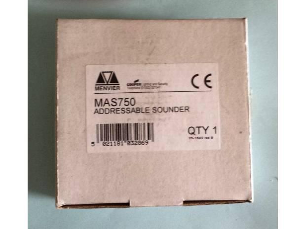 Photos for Menvier MAS750 Addressable Sounder DF4000 - £48 FREE P&P