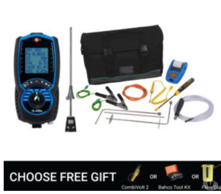 Office Furniture & Pro equipment West Yorkshire Bradford - Photos for Kane 458s Flue Gas Analyser CPA1 Kit - Kan458S CPA1 Kit