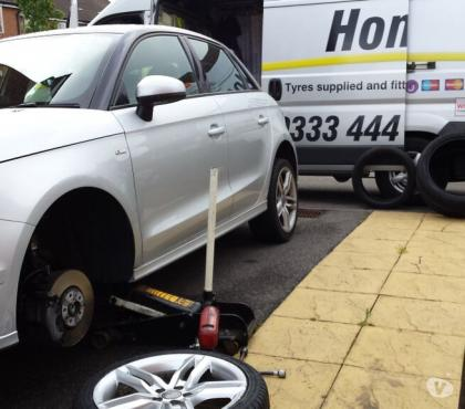 Photos for Tyres on your driveway, mobile service