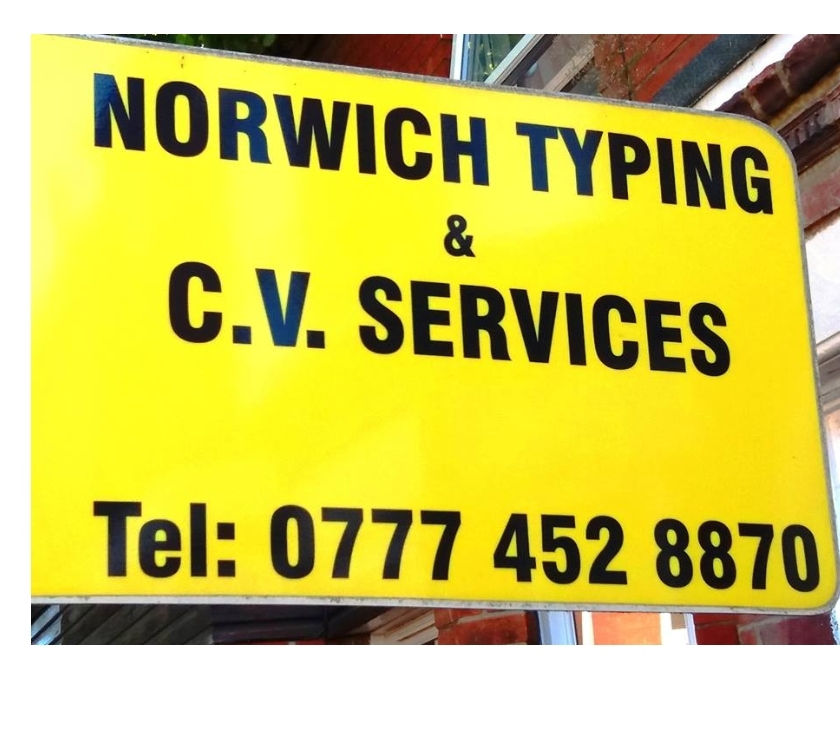 Other Services Norfolk Norwich - Photos for TYPING SERVICES