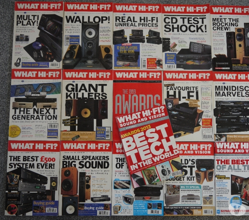 Photos for What Hi-Fi? Magazines