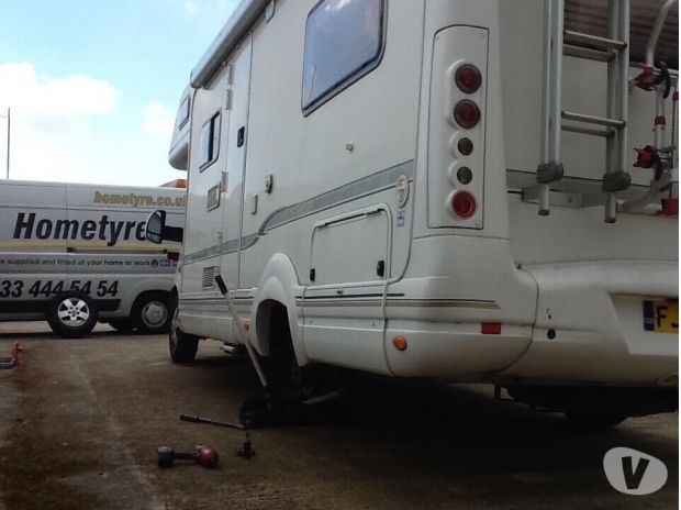 campervan accessories West Sussex Worthing - Photos for Fiat Ducato Motorhome tyres