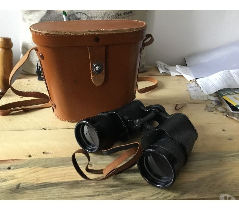 Miscellaneous Suffolk Ipswich - Photos for Binoculars 10x50 in vintage carry case