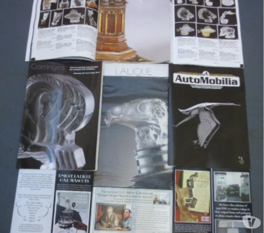 Photos for LALIQUE AUCTION SALE CATALOGUES & AUTOMOBILIA MAGAZINE
