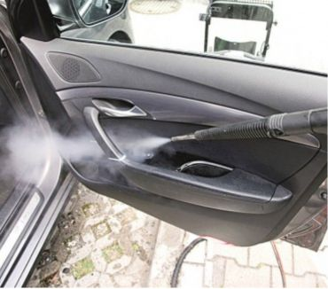 Photos for Removing mold from car upholstery. Steam Cleaning Leeds