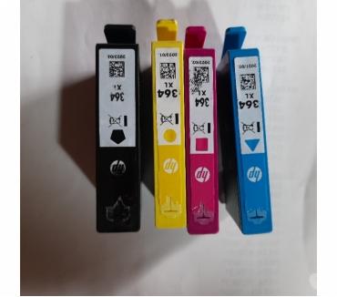 Photos for 4 x hp 364 XL Print Cartridges