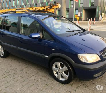 Photos for Left hand drive Opel Vauxhall Zafira A 2004 2.2 Diesel 7 LHD