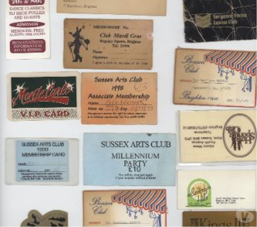 souvenirs East Sussex Brighton - Photos for BRIGHTON & LONDON clubbing from the 1960's to 2000's