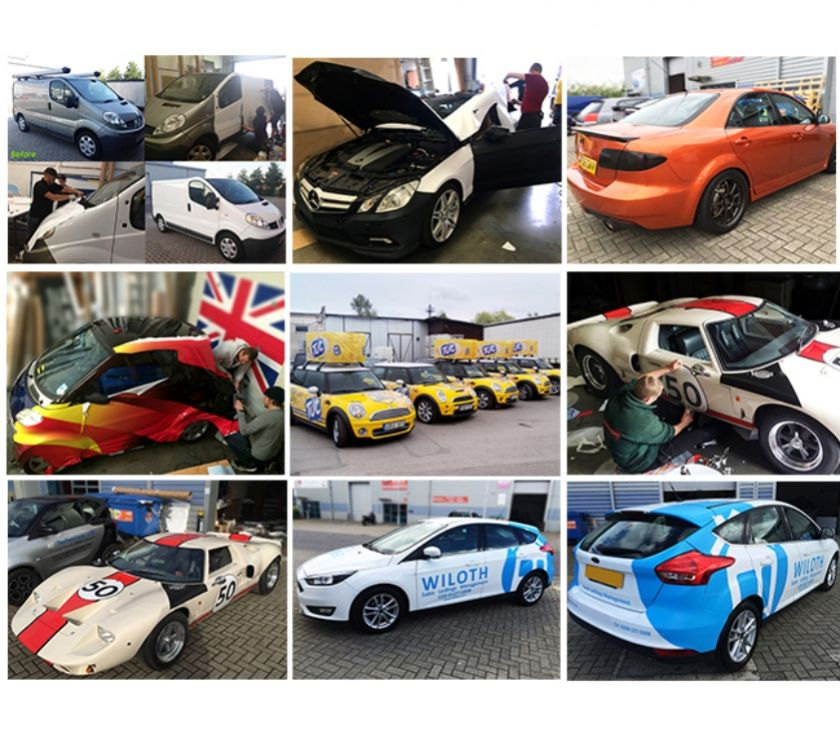 courier services Central London Goswell Road - EC1 - Photos for Car Wrapping in London | Vehicle Graphics London | PromoWrap