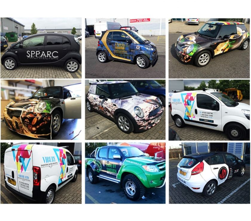Photos for Car Wrapping in London | Vehicle Graphics London | PromoWrap