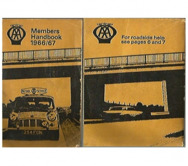 Photos for AA MEMBERS HANDBOOK FOR 1966-67:COLLECTOR'S ITEM
