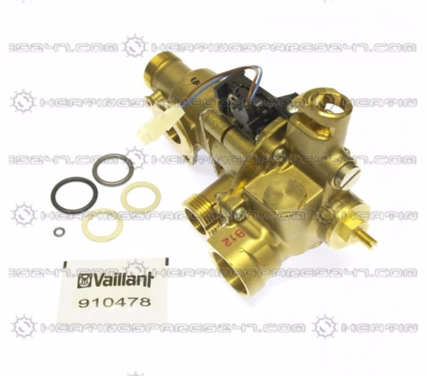 Photos for Vaillant Turbomax Diverter Valve 011289