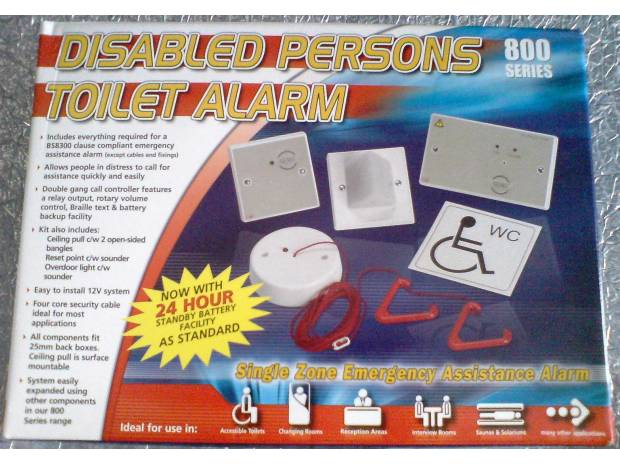 Photos for DISABLED TOILET ALARM C-TEC NC951 ONLY £60 + VAT FREE P&P !