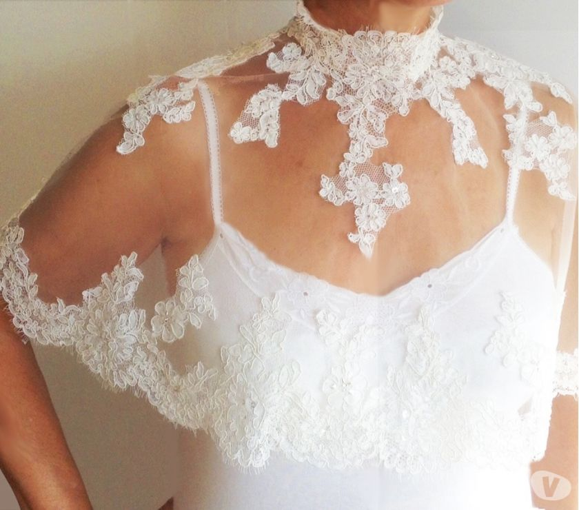 hand made dresses Worcestershire Worcester - Photos for BRIDAL CAPLET (NEW)