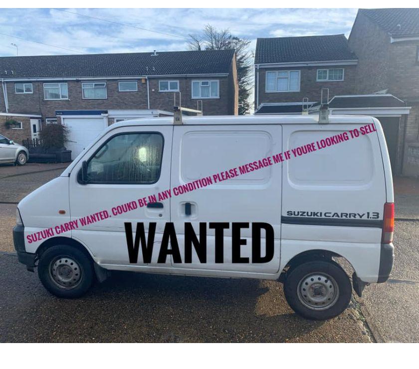 Photos for wanted suzuki carry vans