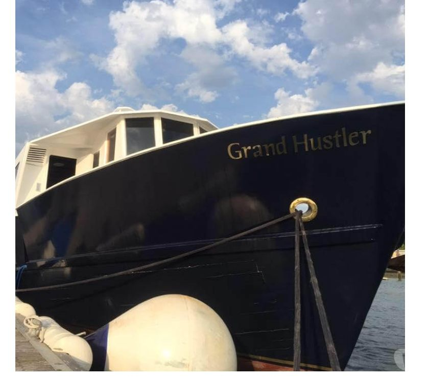 narrow boats for sale Somerset Taunton - Photos for Converted Trawler Liveaboard - Grand Hustler