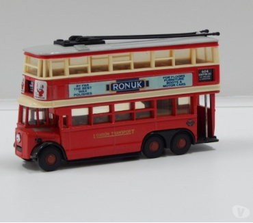 Photos for SCALE MODEL BUS: LONDON TRANSPORT 1930s AEC TROLLEYBUS