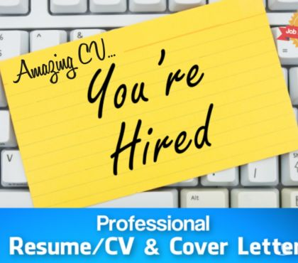 Photos for Professional CV Writing & Resume Writing.