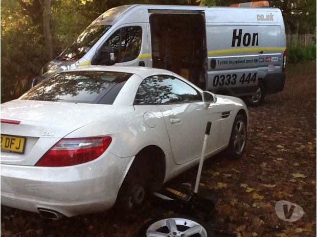 car spares West Sussex Littlehampton - Photos for Mercedes tyres, fitted at your home or work.