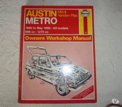 Photos for Haynes Austin Metro Workshop Manual