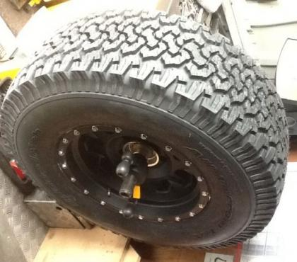 Photos for 4x4 tyres fitted at home ( mobile service)
