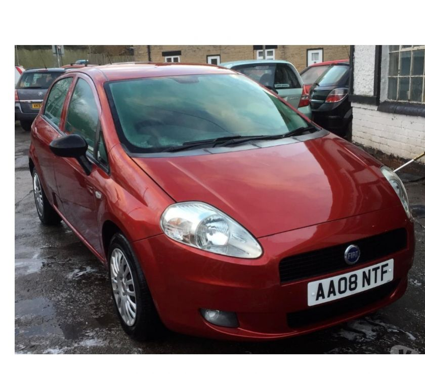 used cars for sale Nottinghamshire Mansfield - Photos for Fiat Grande Punto 1.2 Active 5d 200808