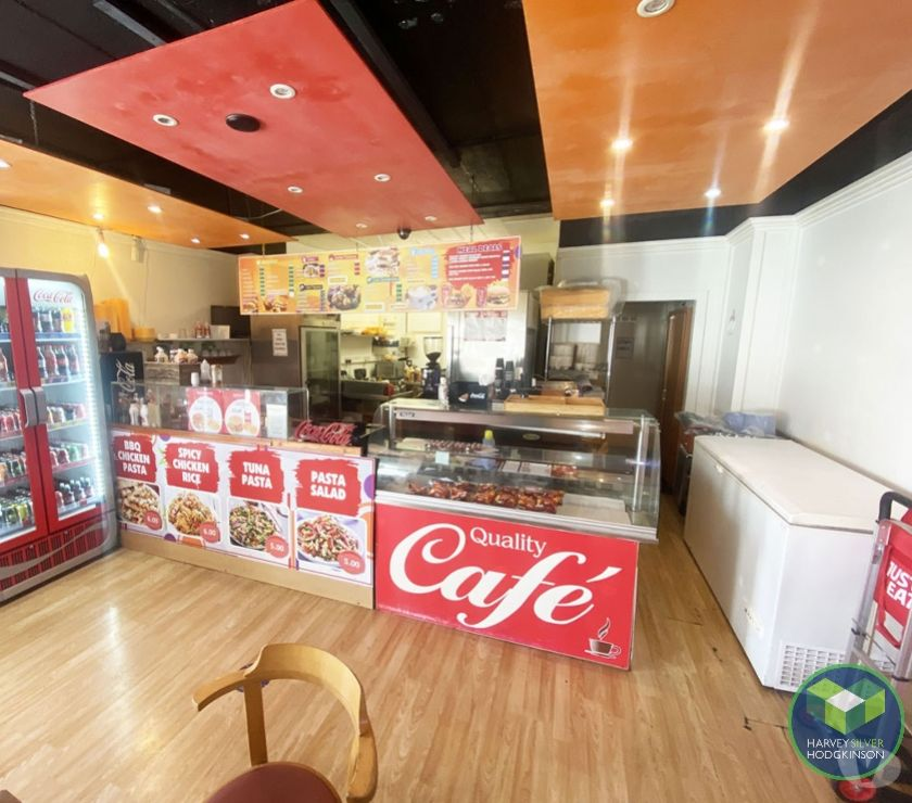 Shops/Businesses for sale - let Manchester County Manchester - Photos for CAFE: MONSALL: REF: V9455