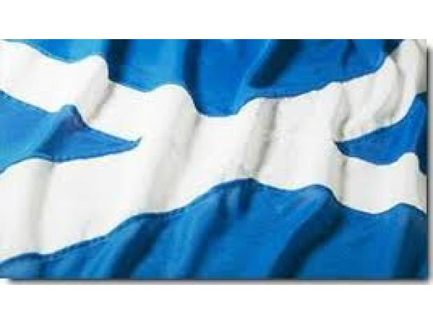 Photos for High quality Sewn Scottish flags