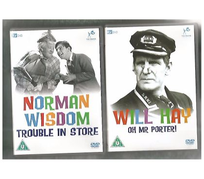 Photos for TWO UNPLAYED CLASSIC BRITISH COMEDY DVDs
