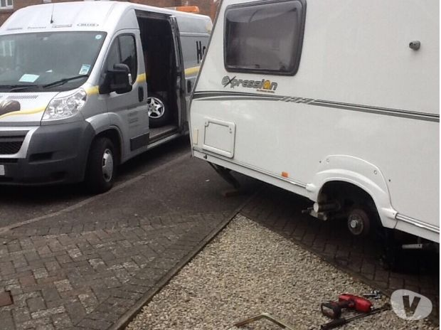 campervan accessories West Sussex Worthing - Photos for Abbey caravan tyres