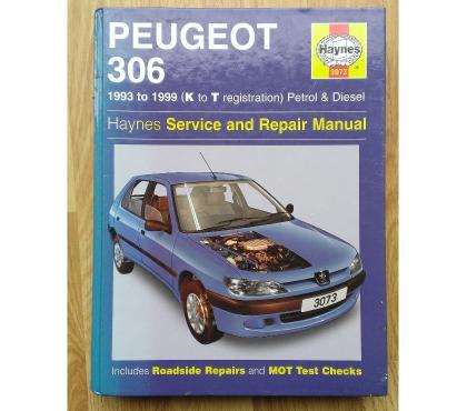 Photos for HAYNES MANUAL - PEUGEOT 306